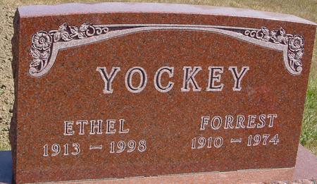YOCKEY, FORREST & ETHEL - Woodbury County, Iowa | FORREST & ETHEL YOCKEY