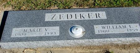 ZEDIKER, WILLIAM & MARIE - Woodbury County, Iowa | WILLIAM & MARIE ZEDIKER