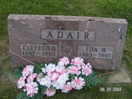 ADAIR, CLIFFORD - Worth County, Iowa | CLIFFORD ADAIR