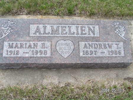 ALMELIEN, MARIAN E - Worth County, Iowa | MARIAN E ALMELIEN
