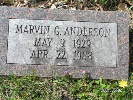 ANDERSON, MARVIN G - Worth County, Iowa | MARVIN G ANDERSON