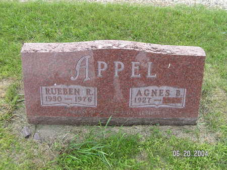 APPEL, RUEBEN R. - Worth County, Iowa | RUEBEN R. APPEL