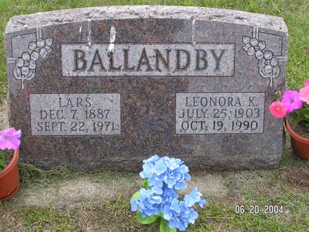 BALLANDBY, LARS - Worth County, Iowa   LARS BALLANDBY