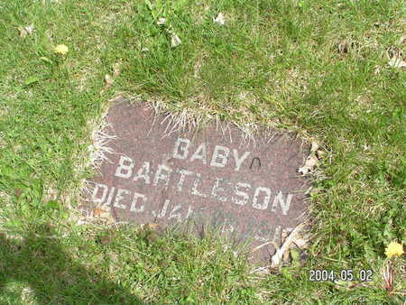 BARTLESON, BABY - Worth County, Iowa | BABY BARTLESON