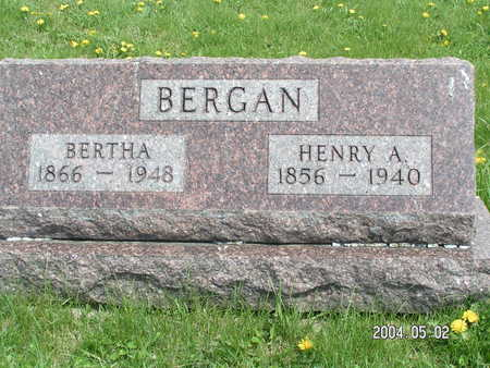 BERGAN, HENRY A. - Worth County, Iowa | HENRY A. BERGAN