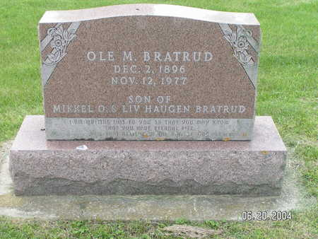 BRATRUD, OLE M. - Worth County, Iowa | OLE M. BRATRUD