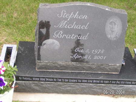 BRATRUD, STEPHEN MICHAEL - Worth County, Iowa | STEPHEN MICHAEL BRATRUD
