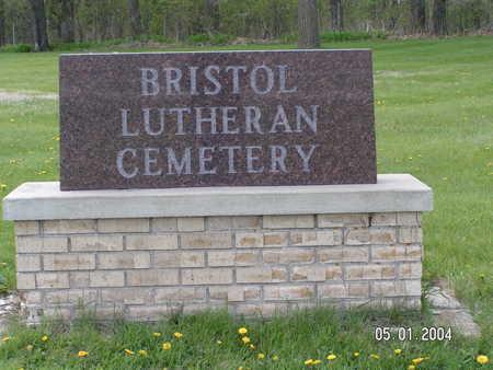 BRISTOL LUTHERAN, CEMETERY - Worth County, Iowa   CEMETERY BRISTOL LUTHERAN