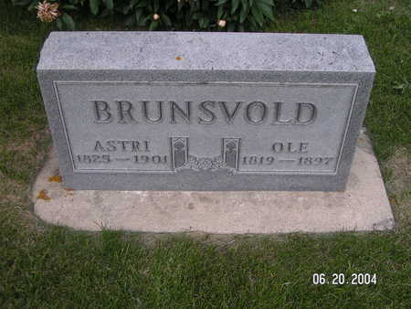BRUNSVOLD, OLE - Worth County, Iowa | OLE BRUNSVOLD