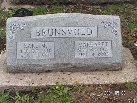 BRUNSVOLD, EARL M. - Worth County, Iowa   EARL M. BRUNSVOLD