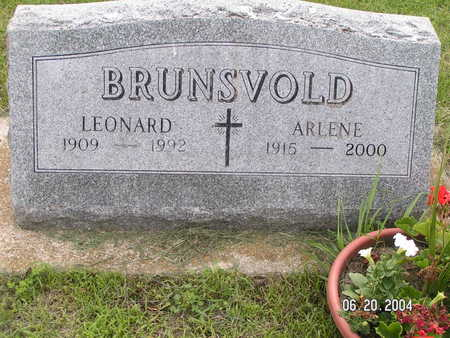 BRUNSVOLD, LEONARD - Worth County, Iowa | LEONARD BRUNSVOLD