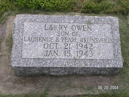 BRUNSVOLD, LARRY OWEN - Worth County, Iowa | LARRY OWEN BRUNSVOLD