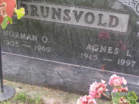 BRUNSVOLD, AGNES L - Worth County, Iowa | AGNES L BRUNSVOLD