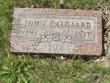 CALGAARD, JOHN - Worth County, Iowa | JOHN CALGAARD