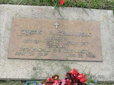 CHALLBERG, CURTIS P. - Worth County, Iowa   CURTIS P. CHALLBERG