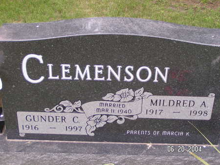CLEMENSON, MILDRED A. - Worth County, Iowa | MILDRED A. CLEMENSON
