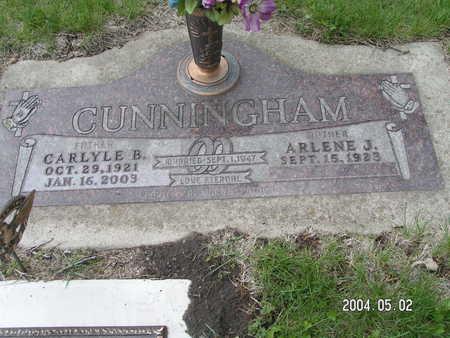 CUNNINGHAM, CARLYLE B. - Worth County, Iowa | CARLYLE B. CUNNINGHAM