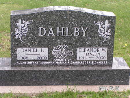 DAHLBY, DANIEL I. - Worth County, Iowa | DANIEL I. DAHLBY