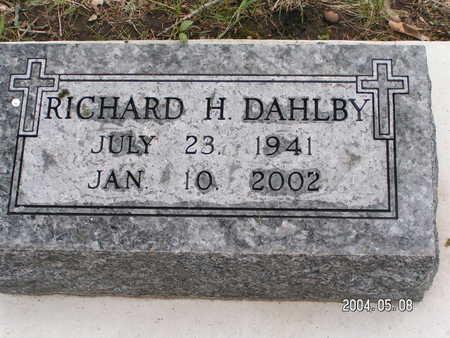 DAHLBY, RICHARD H. - Worth County, Iowa | RICHARD H. DAHLBY
