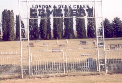 DEER CREEK LONDON, CEMETERY - Worth County, Iowa | CEMETERY DEER CREEK LONDON