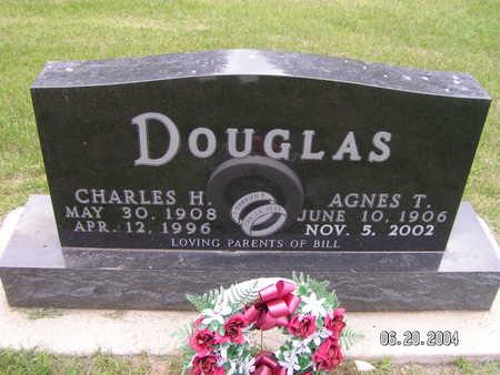 DOUGLAS, AGNES T. - Worth County, Iowa | AGNES T. DOUGLAS