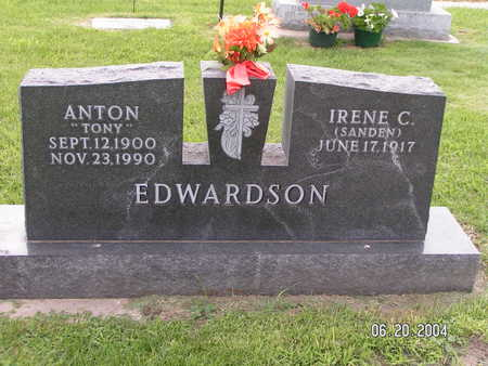 EDWARDSON, ANTON - Worth County, Iowa | ANTON EDWARDSON
