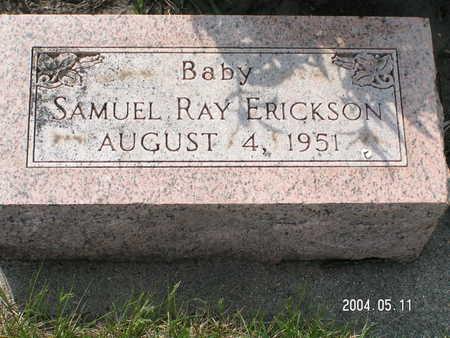 ERICKSON, SAMUEL RAY - Worth County, Iowa | SAMUEL RAY ERICKSON