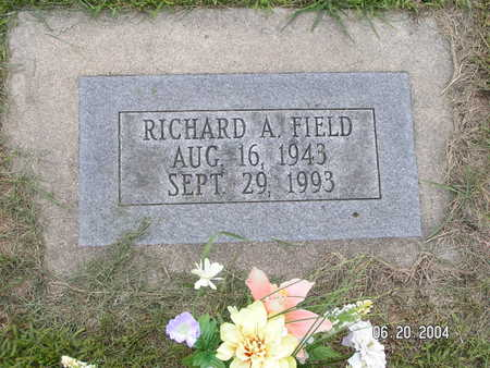 FIELD, RICHARD A. - Worth County, Iowa | RICHARD A. FIELD