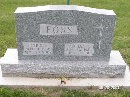 FOSS, DORIS E. - Worth County, Iowa | DORIS E. FOSS