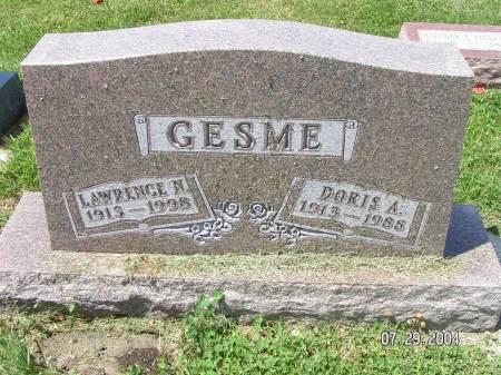 GESME, LAWRENCE N. - Worth County, Iowa | LAWRENCE N. GESME
