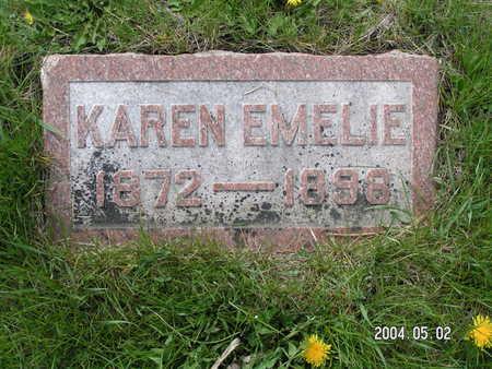 GROSLAND, KAREN EMELIE - Worth County, Iowa | KAREN EMELIE GROSLAND