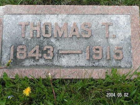 GROSLAND, THOMAS T. - Worth County, Iowa | THOMAS T. GROSLAND
