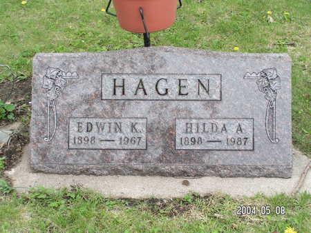 HAGEN, EDWIN K - Worth County, Iowa | EDWIN K HAGEN