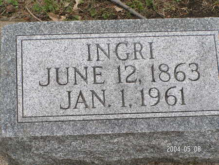 HAGEN, INGRI - Worth County, Iowa | INGRI HAGEN