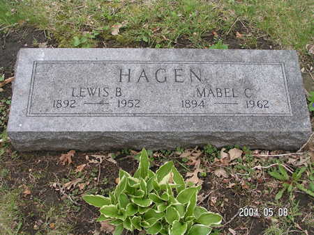 HAGEN, MABEL C. - Worth County, Iowa | MABEL C. HAGEN