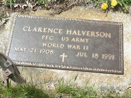 HALVERSON, CLARENCE - Worth County, Iowa | CLARENCE HALVERSON
