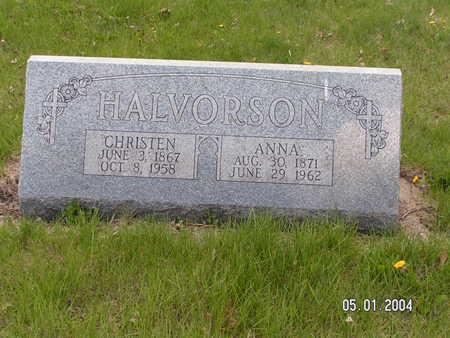 HALVORSON, ANNA - Worth County, Iowa | ANNA HALVORSON