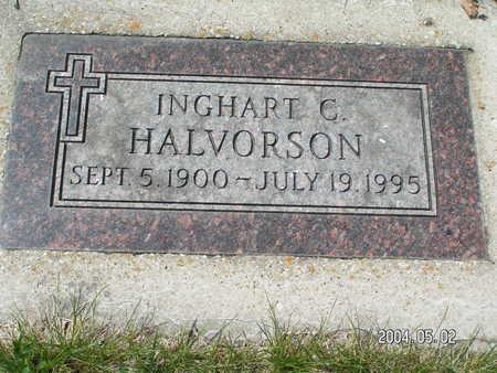 HALVORSON, INGHART C. - Worth County, Iowa | INGHART C. HALVORSON
