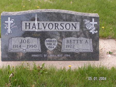 HALVORSON, JOE - Worth County, Iowa | JOE HALVORSON