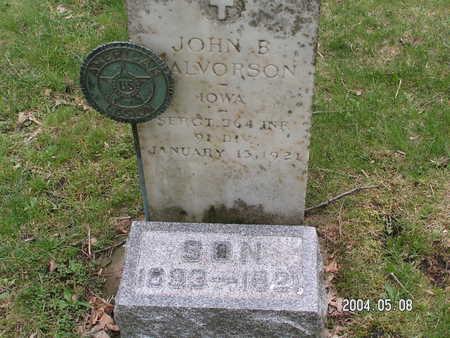 HALVORSON, JOHN B. - Worth County, Iowa | JOHN B. HALVORSON