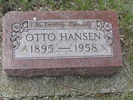 HANSEN, OTTO - Worth County, Iowa   OTTO HANSEN