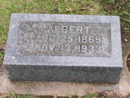 HANSON, ALBERT - Worth County, Iowa | ALBERT HANSON