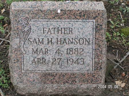 HANSON, SAM H. - Worth County, Iowa | SAM H. HANSON