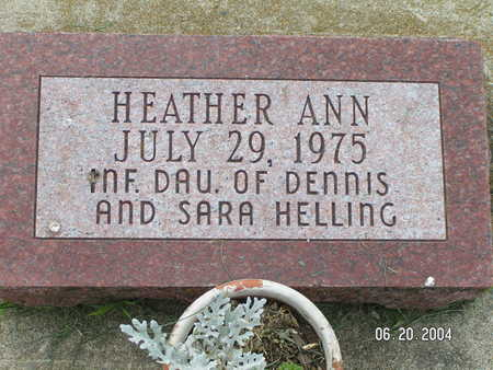 HELLING, HEATHER ANN - Worth County, Iowa | HEATHER ANN HELLING
