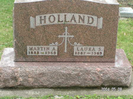 HOLLAND, MARTIN A - Worth County, Iowa | MARTIN A HOLLAND