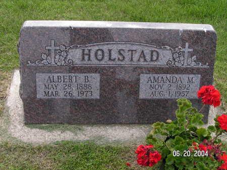 HOLSTAD, AMANDA M. - Worth County, Iowa   AMANDA M. HOLSTAD