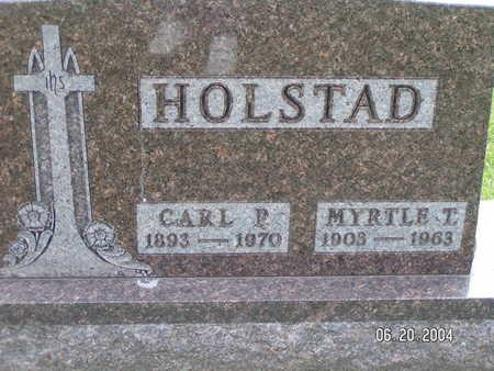 HOLSTAD, MYRTLE T. - Worth County, Iowa | MYRTLE T. HOLSTAD