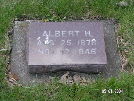 INGEBRETSON, ALBERT H. - Worth County, Iowa | ALBERT H. INGEBRETSON