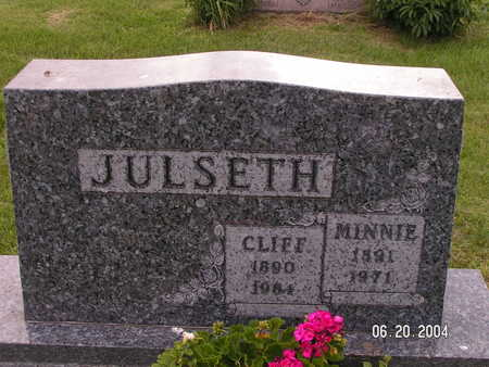 JULSETH, CLIFF - Worth County, Iowa | CLIFF JULSETH