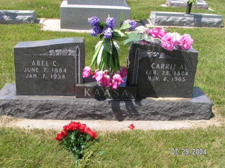 KAASA, CARRIE A. - Worth County, Iowa | CARRIE A. KAASA